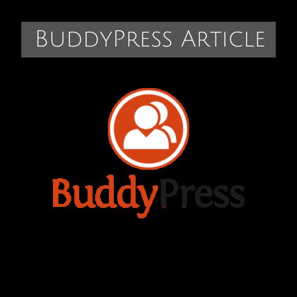 BuddyPress Article Backlink