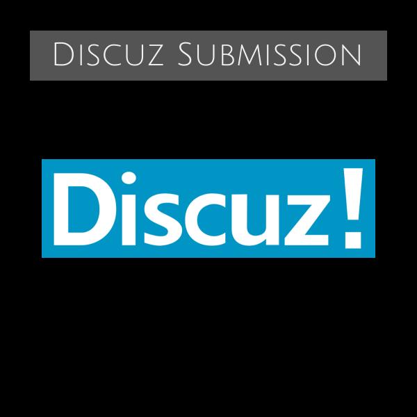 Discuz Forum Submission